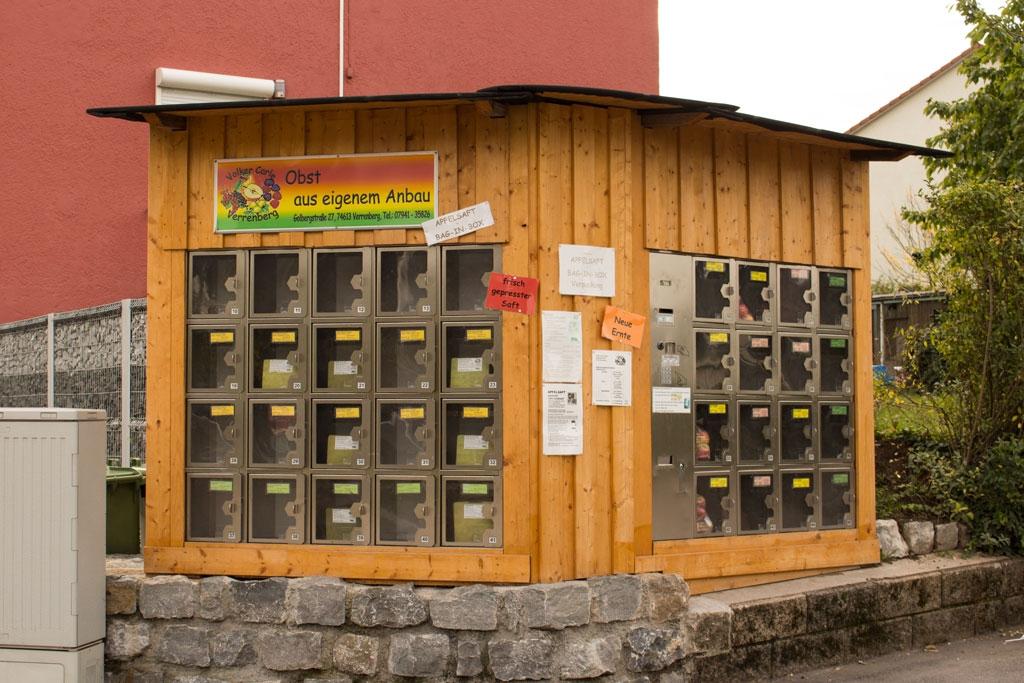 Unser Verkaufsautomat