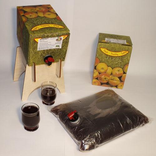 Apfel-Traubensaft aus der Region