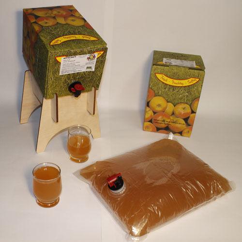 Naturtürber Apfelsaft aus der Region
