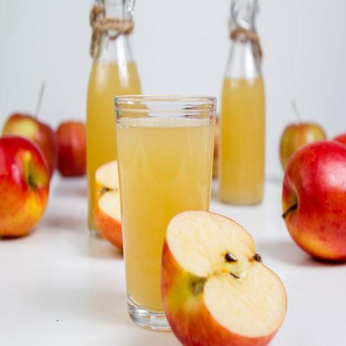Naturtrüber Apfelsaft